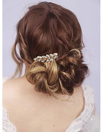 kercisbeauty boda decorativo Peines de novia peine de pelo diadema boda pelo pieza Vintage peine de