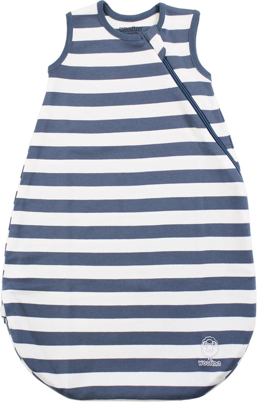 Ecolino Organic Cotton Baby Sleep Bag or Sack Infant Wearable Blanket, 0-3 Years