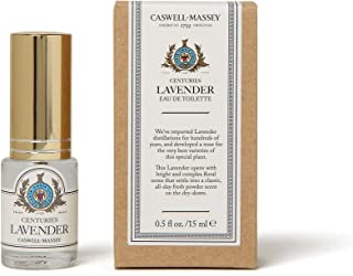product image for Caswell-Massey Centuries Lavender Eau De Toilette Perfume Travel Spray – Floral Fragrance for Women, Made in USA – 0.5 Ounces