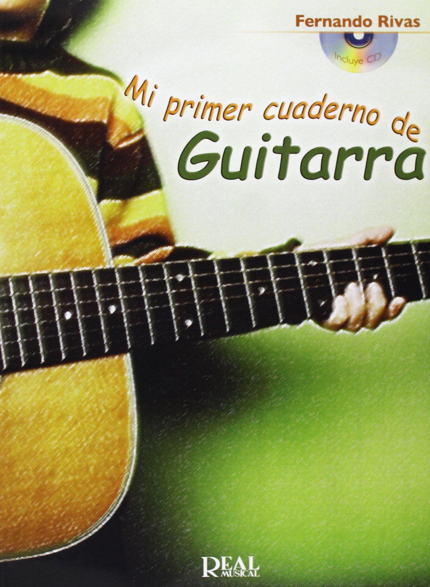 Mi Primer Cuaderno de Guitarra: Amazon.es: Rivas, Fernando, Guitar ...
