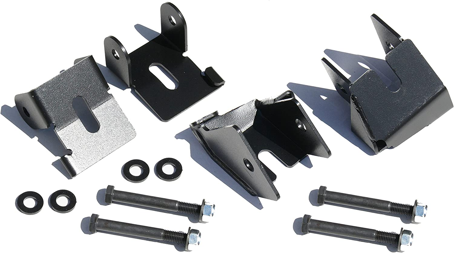 Current Rock Hard 4x4 Bolt-ON Front and Rear Lower Control ARM Skid Plates for Jeep Wrangler JL 2018 RH-90515