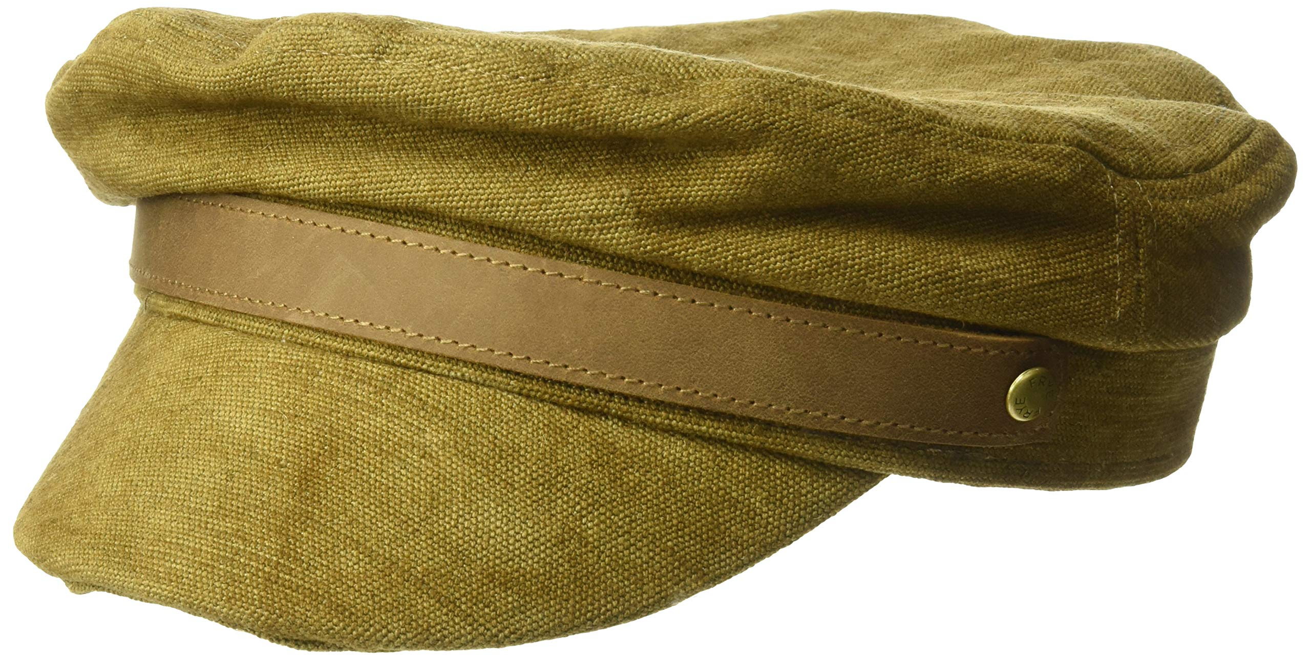 Frye Headwear Women's Frye Canvas Fiddler, Bark, Medium/Large by Frye Headwear