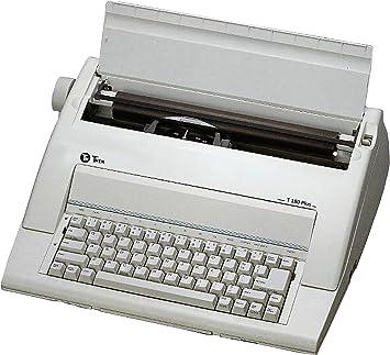 TWEN Máquina de escribir TWEN T 180 Plus eléctrico sin pantalla: Amazon.es: Electrónica