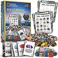 NATIONAL GEOGRAPHIC Rock Bingo Game -Play Rock Bingo, Mineral Memory, Gemstone Trivia, & Your Favorite Card Games…