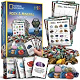 NATIONAL GEOGRAPHIC Rock Bingo Game -Play Rock Bingo, Mineral Memory, Gemstone Trivia, & Your Favorite Card Games, Collection