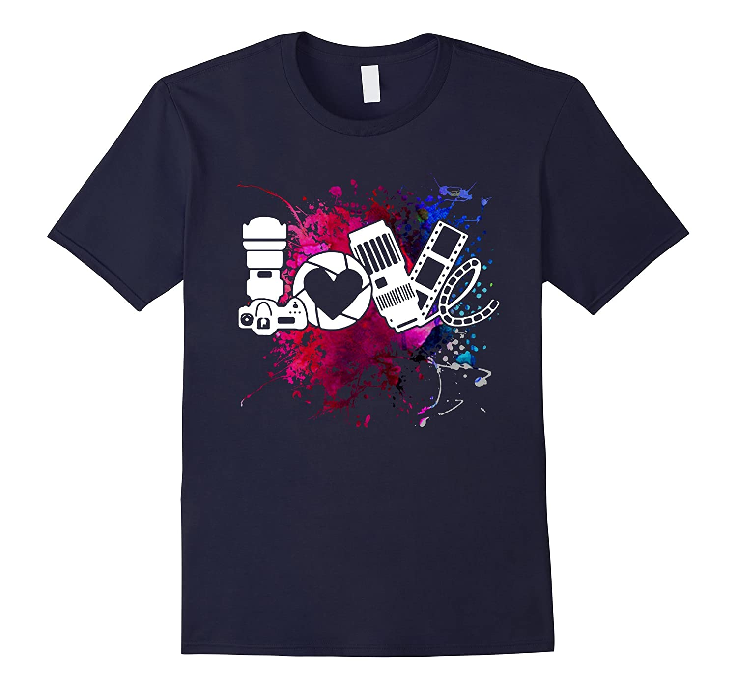 Photographer Shirt - Love Photographer T shirts-Vaci