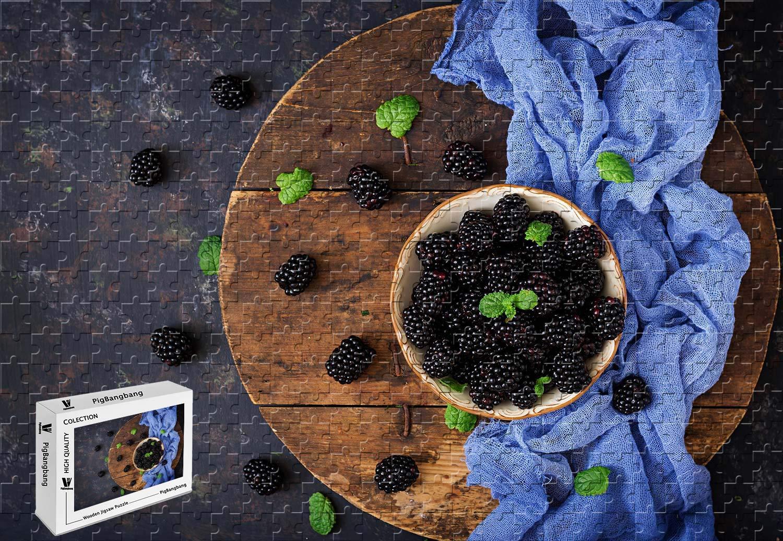 【後払い手数料無料】 PigBangbang、29.5 X X 19.6インチ、手作り知育ゲームプレミアム木製DIY B07G87QPJ7 素敵な絵画、ジグソーグルー 素敵な絵画 - ブラックベリークロス - 1000ピースジグソーパズル B07G87QPJ7, マツノチョウ:448a06a2 --- a0267596.xsph.ru