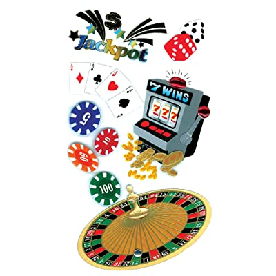 Jolee's Boutique Casino Stickers: Arts, Crafts & Sewing