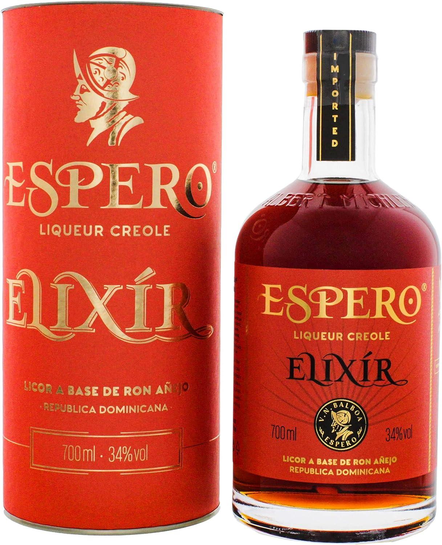 Espero Elixir Creole Rum Liqueur - 700 ml: Amazon.es ...