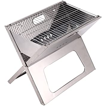 Amazon.com: Brentwood Appliances BB-1811F Foldable BBQ Grill ...
