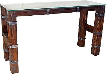 CHYRKA - Mesa de Comedor, Estilo Vintage, Hecha a Mano, 120 x 60 ...