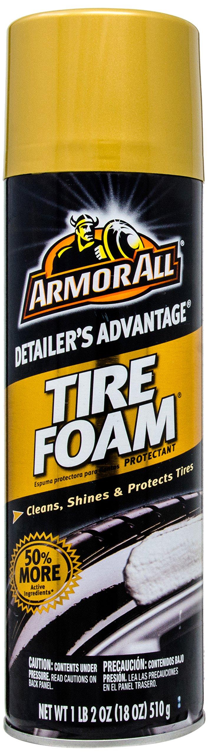 Armor All 78107 Detailer's Advantage Tire Foam Protectant - 18 oz.