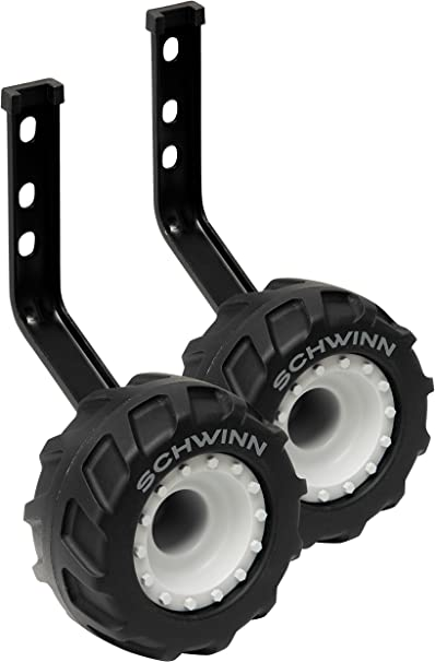 Amazon Com Schwinn Bike Training Wheels For 16 Inch And 20 Inch Wheels Monster Truck Sports Outdoors
