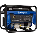 Westinghouse WGen3600v Portable Generator - 3600 Rated Watts & 4650 Peak Watts - Gas Powered - CARB Compliant