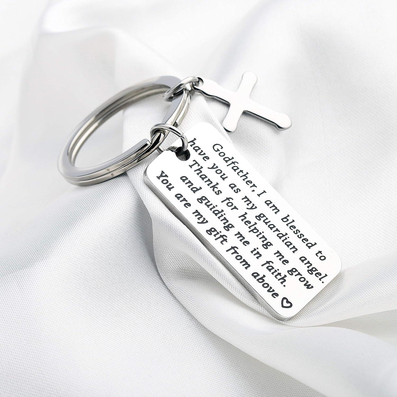 Regalo per padrino idea regalo per battesimo con scritta in lingua ingleseThank for Helping Me