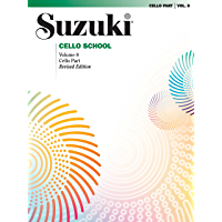 Suzuki Cello School - Volume 8 (Revised): Cello Part book cover