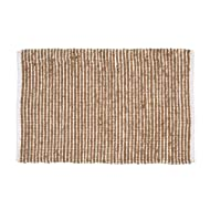 Classic Country Jute Cotton Rug 2x3' - Hand Woven - Farmhouse Natural White Rug,Kitchen Rugs, Farmhouse Rugs, Rugs for Living & Bedroom,Woven Rugs