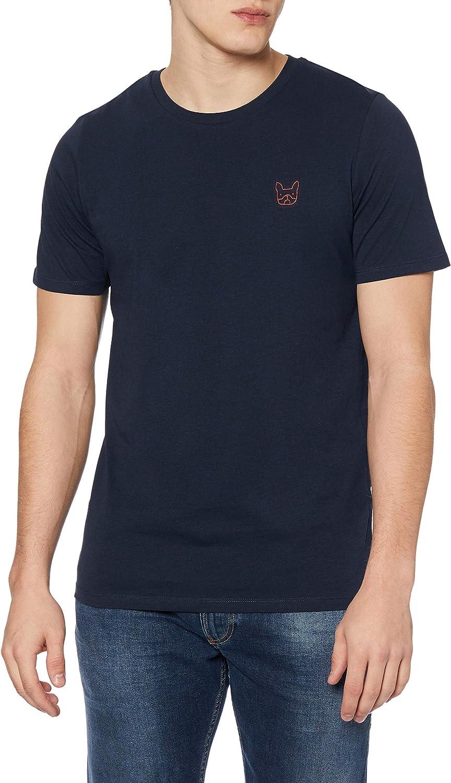 Jack & Jones Jjedenim Logo tee SS O-Neck Noos Camiseta para Hombre