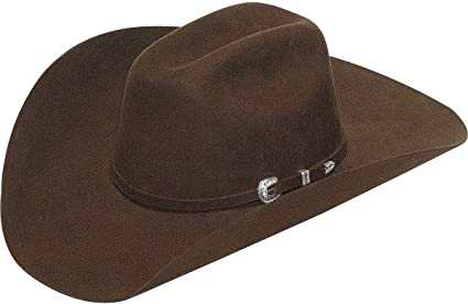 T75320-47 Twister Men/'s Laredo Self Band with Three-Piece Buckle Hat