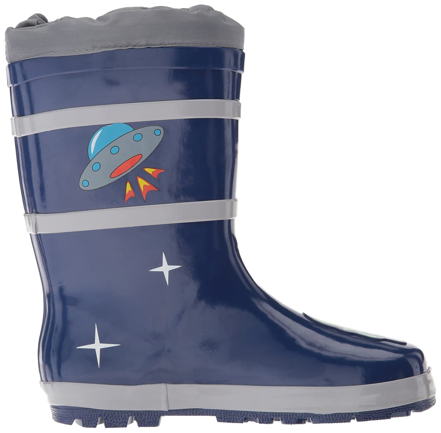 Amazon.com: Kidorable Blue Space Hero Natural Rubber Rain Boots: Clothing