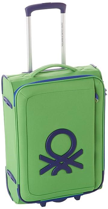 Benetton - Maleta con ruedas (tamaño pequeño)