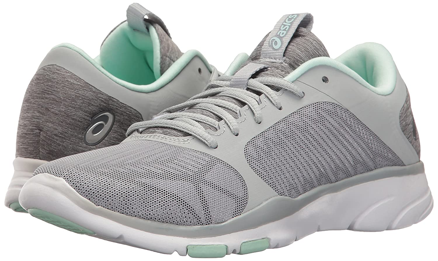 ASICS Women's Gel-Fit Tempo 3 Cross-Trainer Shoe B01H2NF8MM 11.5 B(M) US|Mid Grey/Silver/Bay