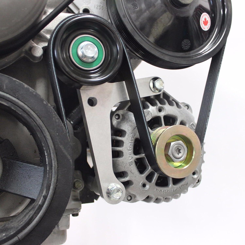 LS Camaro Billet Low Mount Alternator Bracket LSX Innovations