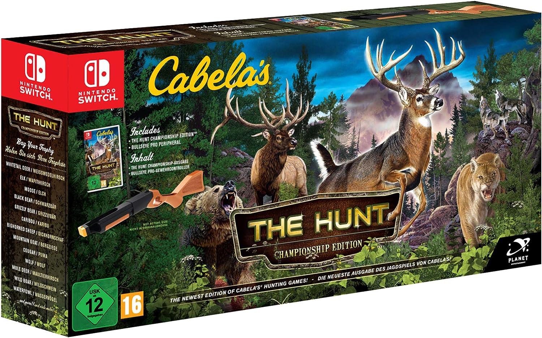 Cabelas The Hunt (Bundle) (Nintendo Switch): Amazon.es: Videojuegos