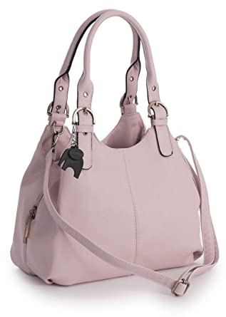 7009ca9b298e78 BHSL Womens Multiple Pockets Medium Size Long Strap Shoulder Bag - with a  Branded Protective Storage
