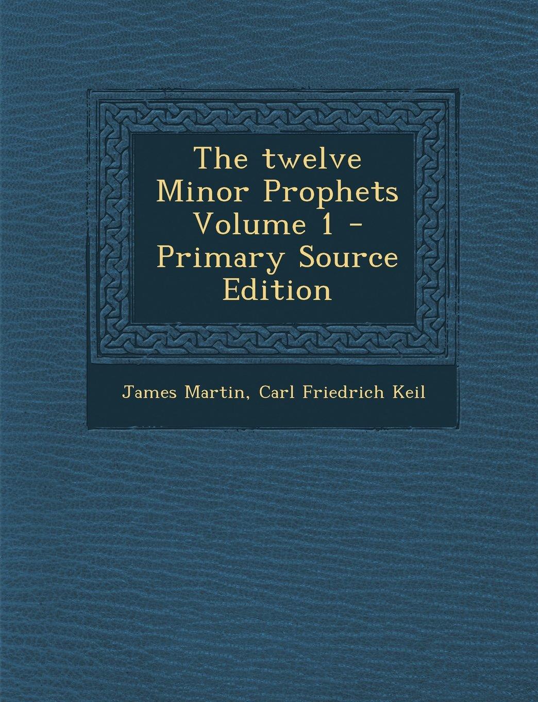 Read Online The Twelve Minor Prophets Volume 1 - Primary Source Edition pdf epub