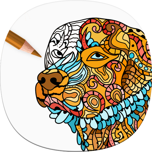 Amazon Dog Coloring Pages For Adults Appstore For
