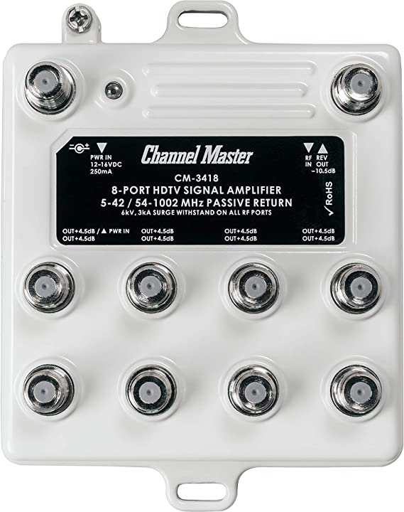 Channel Master Ultra Mini 8 TV Antenna Amplifier