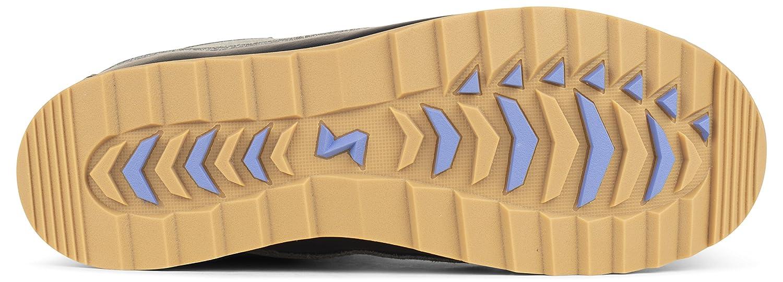 Forsake Duck - Sneakerboot Women's Waterproof Leather Performance Sneakerboot - B01KW3UUJU 7.5 M US Black/Stone 476536