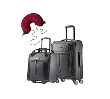 21ea1557bcc0 Samsonite Leverage LTE 3 Piece Carry-On Bundle