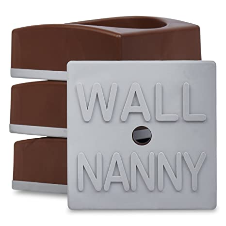 Wall Nanny-Baby Gate Wall Protector Protect Walls /& Doorways from Pet/&Dog Gates