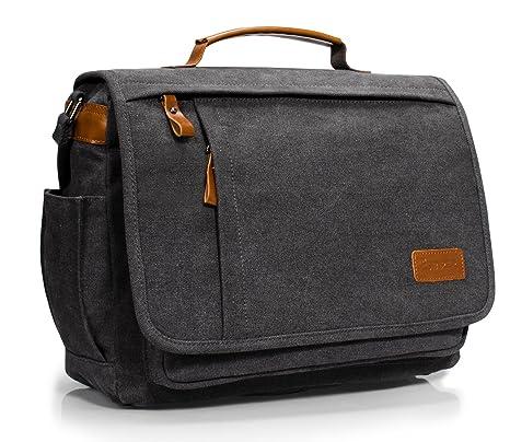 Estarer 13.3-14 inch Mens Laptop Messenger Bag 24a38d48c4343