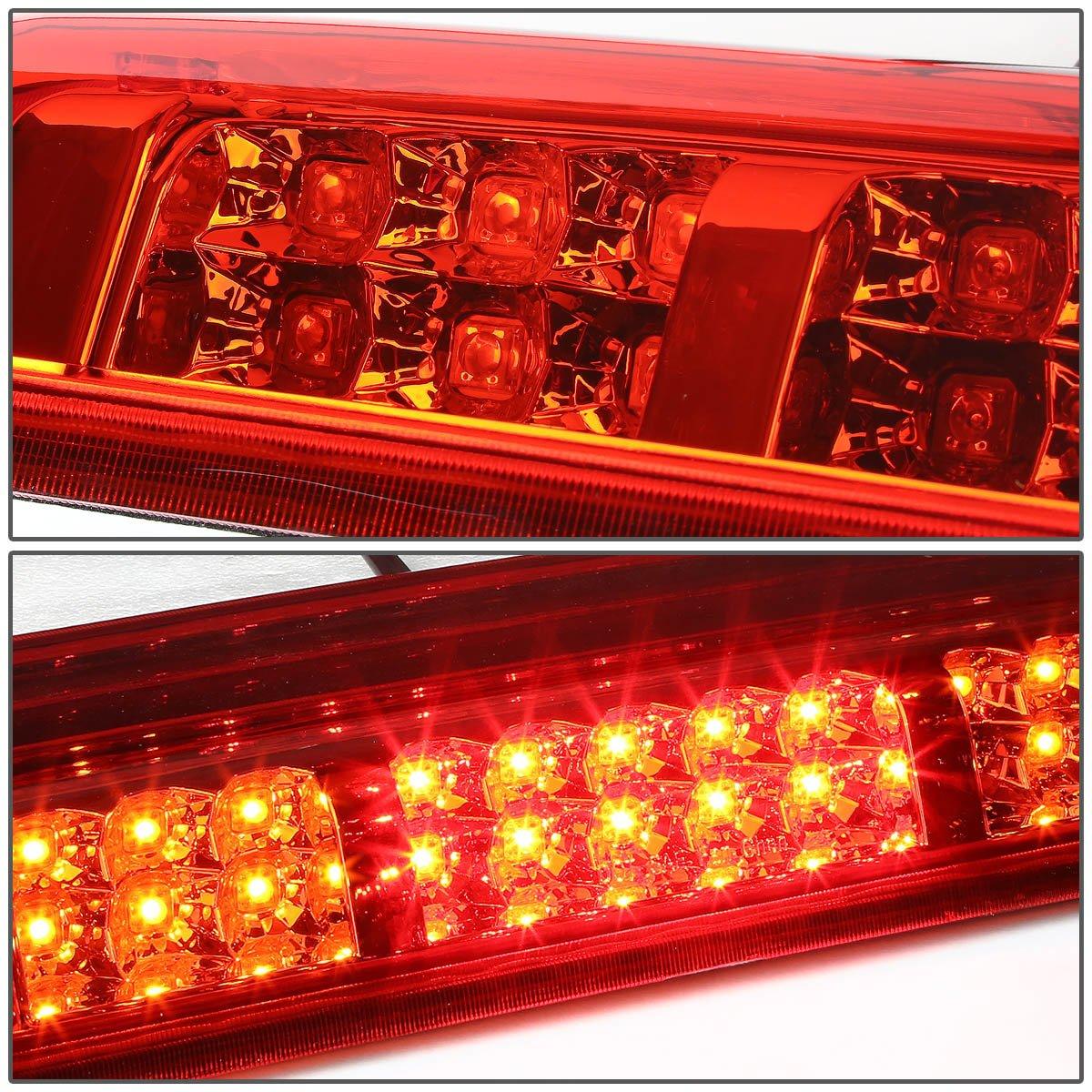 DNA Motoring 3BL-F15004-LED-RD Third Brake Light