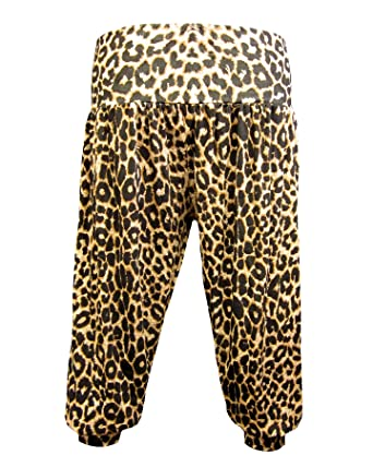 9412c6970be5 Body2Body - Pantalon - Imprimé Animal - Femme Multicolore Brown Leopard