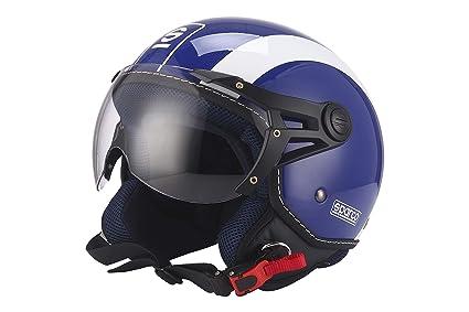 Sparco Riders Casco 501 Azul/Blanco, talla S