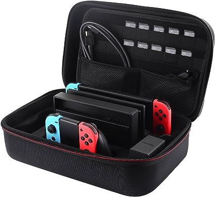Funda de transporte para Nintendo Switch, Libier portátil de viaje ...