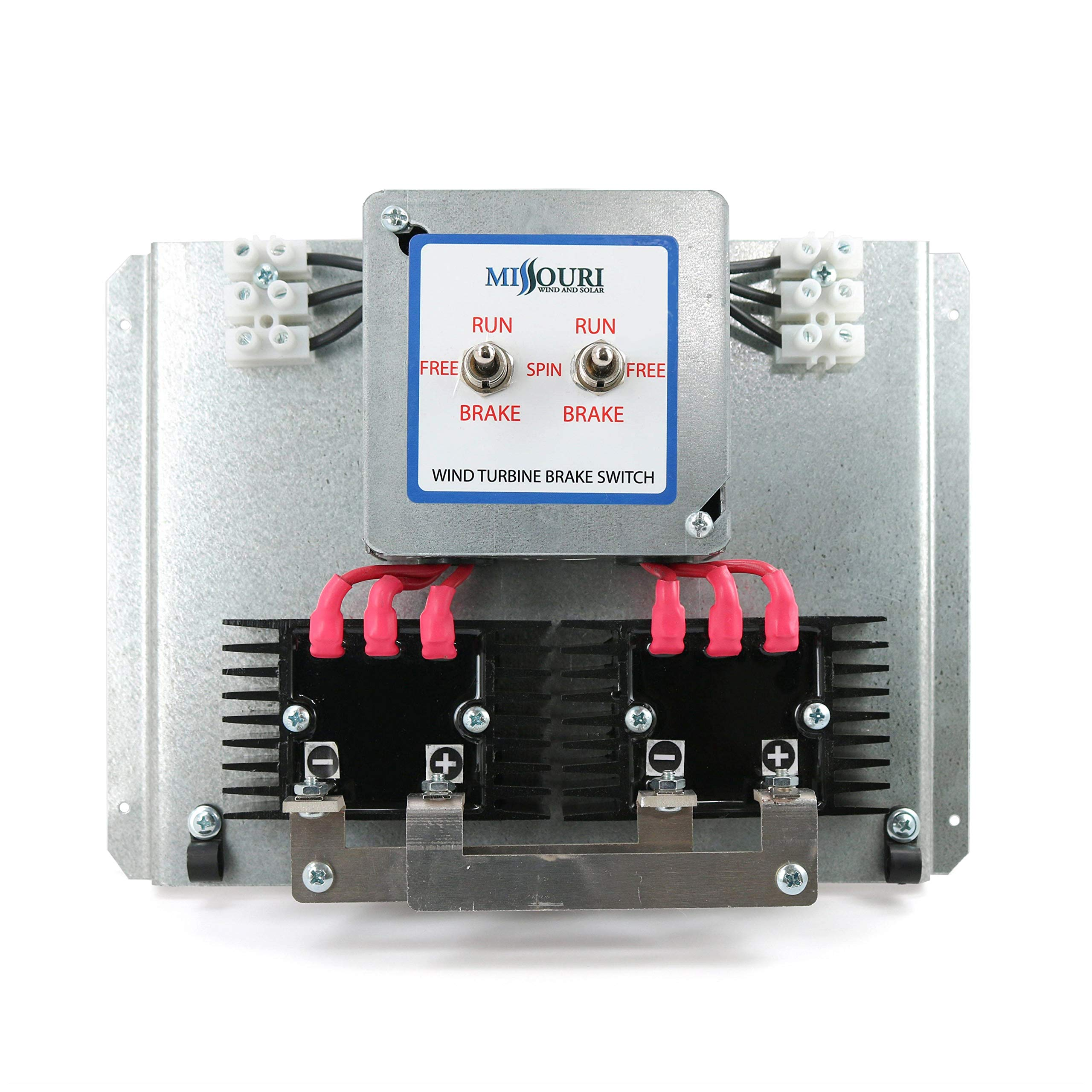 Dual 3 Phase Brake Switch for 2000 Watt Wind Turbines by Missouri Wind and Solar