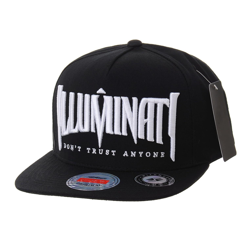 WITHMOONS Snapback Hat Illuminati Embroidery Hip Hop Baseball Cap AL2389  (Black) at Amazon Men s Clothing store  45bac168242