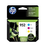 HP 952 Cyan, Magenta & Yellow Original Ink Cartridges, 3 pack (N9K27AN),N9K27AN#140