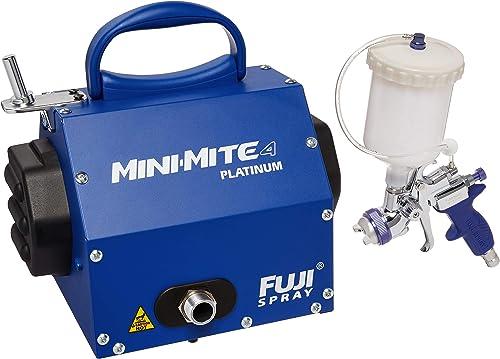 Fuji 2804-T75G Mini-Mite 4 PLATINUM – T75G Gravity HVLP Spray System