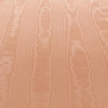 Amazon Com 50 Wide Dark Peach Moire Taffeta Wood Grain Watermark