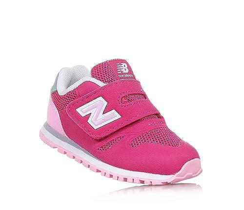 New Balance - Zapatillas de gimnasia para niña rosa Size: 23,5: Amazon.es: Zapatos y complementos
