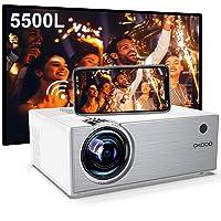 Deals on Okcoo Mini WiFi Projector 5500L Supports 1080P Full HD