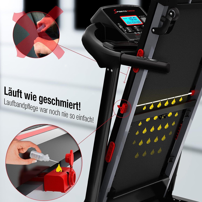 Sport STech F31 Cinta de Correr Profesional con innovadora Incluso ...