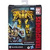 """Transformers Toys Studio Series 49 Deluxe Class Movie 1 Bumblebee Action Figure - Kids Ages 8 & Up, 4.5"""""""