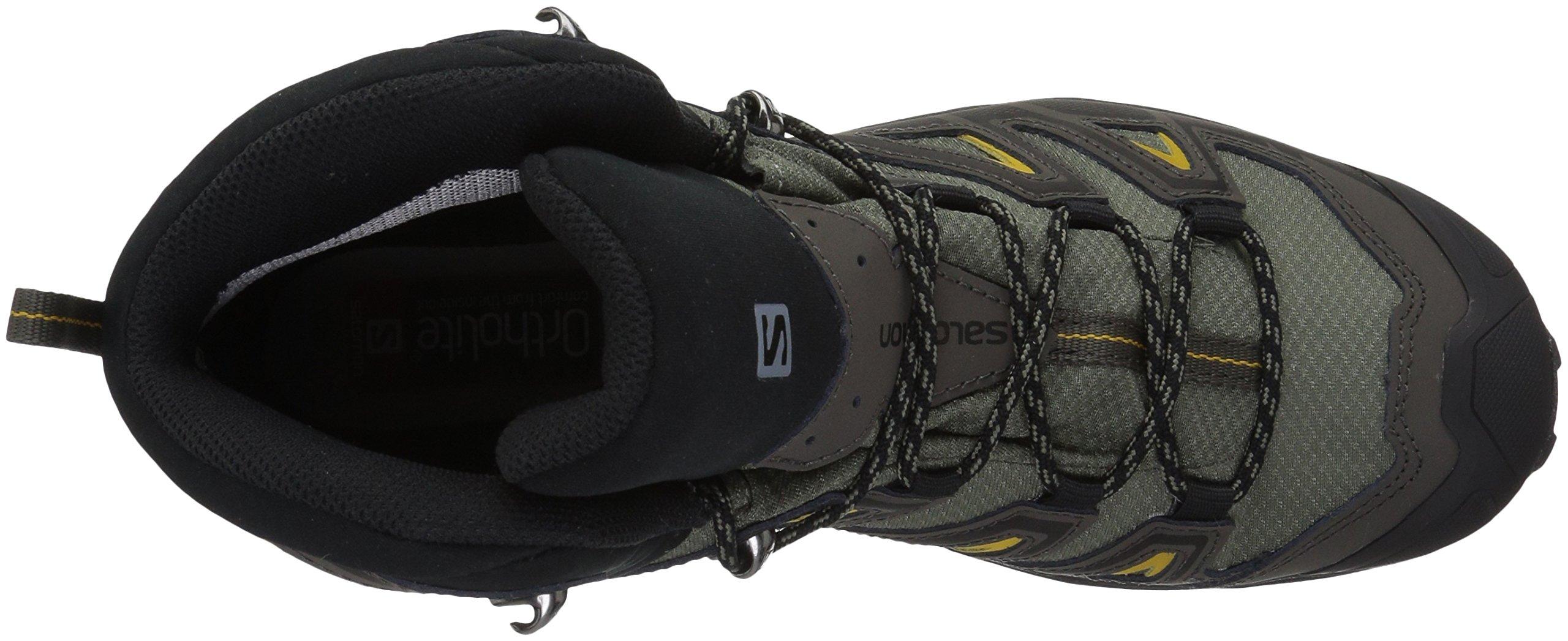 e69fbfc7829 Salomon Men's X Ultra 3 Mid GTX Hiking Boot, Castor Gray, 11 M US ...